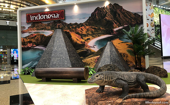 Indonesia - Photo Spots at Changi Airport