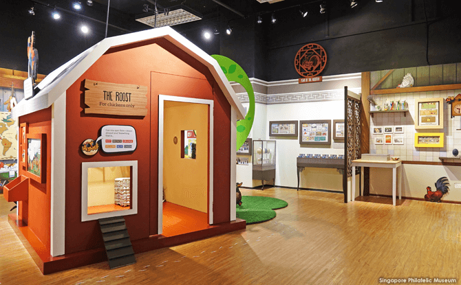 Chicken Coop at the Chicken & Egg: A Fowl Tale Exhibition