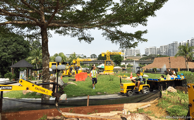 Overview of Diggersite in Yishun