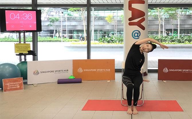 Singapore Sports Hub 7x7 Workout Online