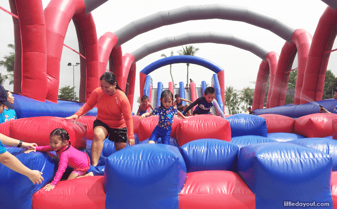 Sentosa FunFest 2016 Slide and Bounce