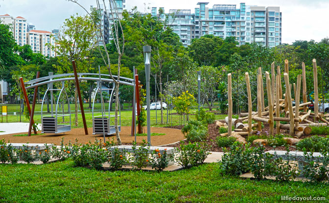 Jubilee Park, Fort Canning