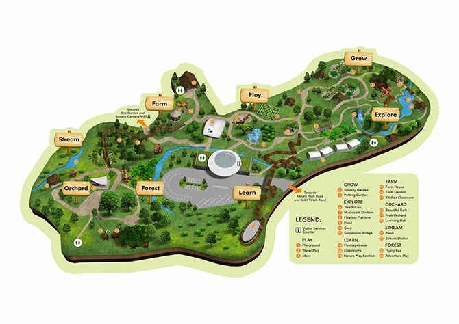 Jacob Ballas Children's Garden – Map, Areas & Overview of Things to Expect