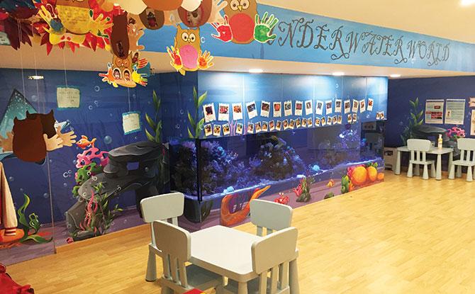 Classrooms at MindChamps PreSchool @ Concorde Hotel (Orchard)
