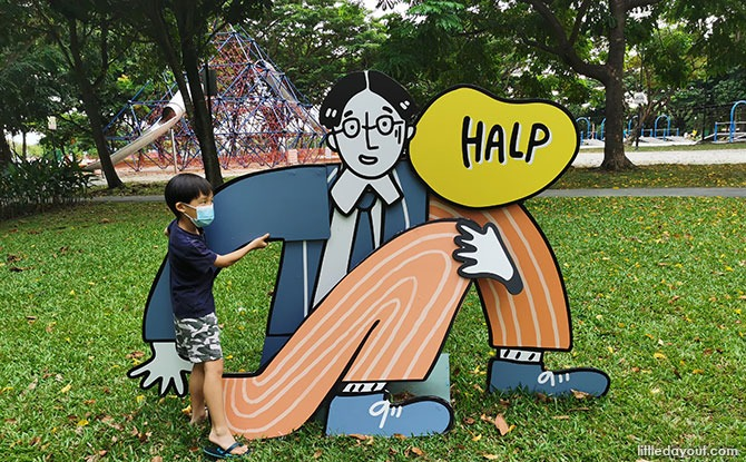 Family Review: Read! Fest Literary Trail: The Curious Adventure Of The Salaryman