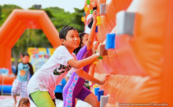 Sentosa Mega Inflatables Playground