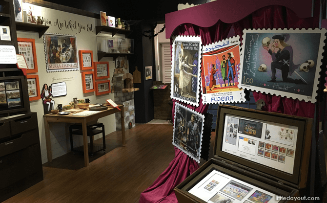 Shaking It With Shakespeare Philatelic Museum