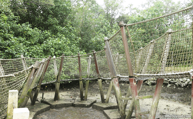 Rope Balancing Bridge