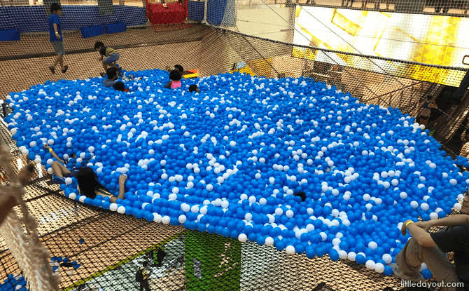 Ball Pit at Airzone Singapore, City Square Mall