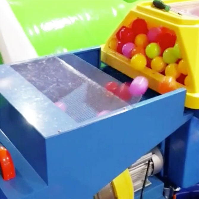 Super-efficient Ball Pit Cleaning Machine!