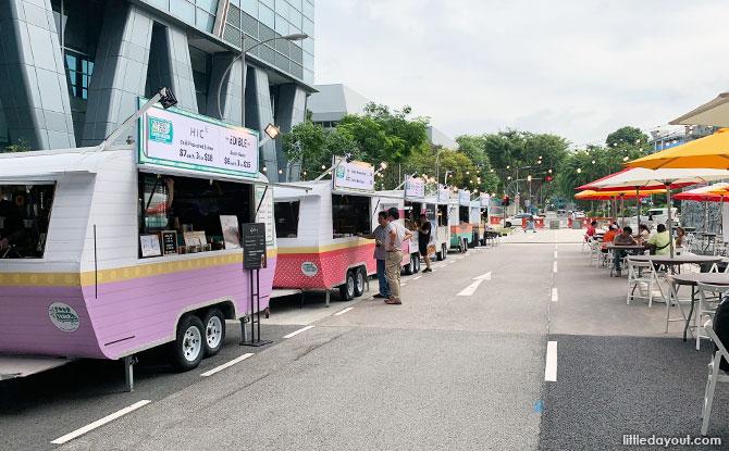 Eco Food Truck Street