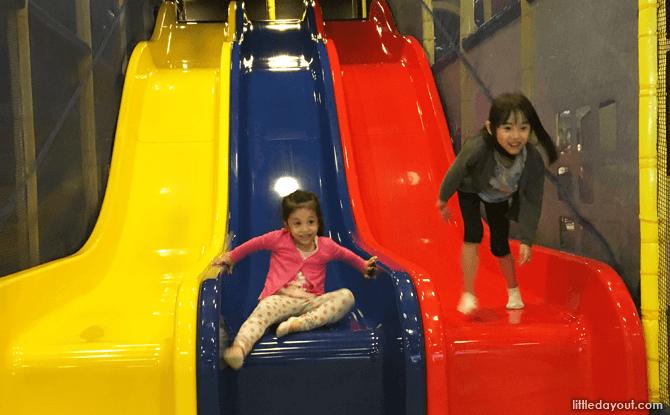 Climb and Slide at Cool De Sac