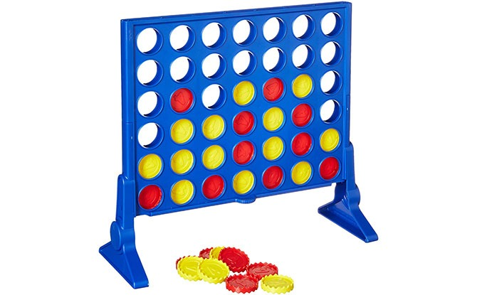 Connect 4 - tabletop game for preschoolers