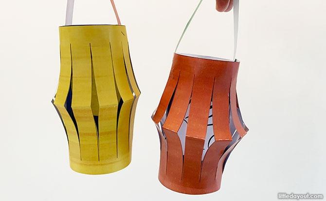 DIY Paper Lantern for Mid-Autumn Festival