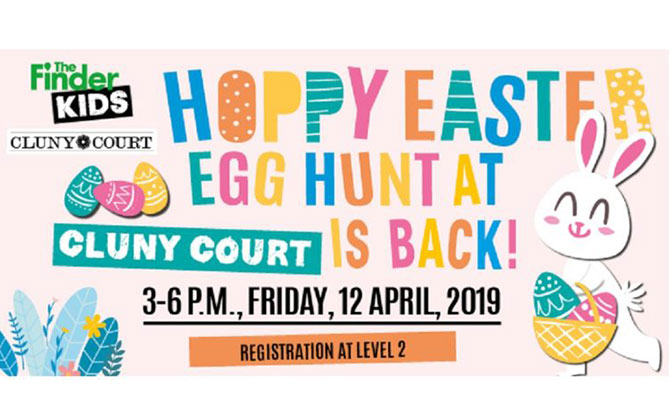 Hoppy Easter Egg Hunt, Cluny Court