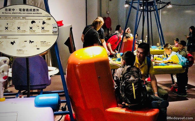 Electricity and Magnetism Gallery in the Hong Kong Science Museum