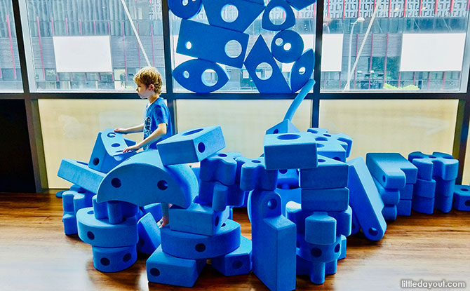 Kaboodle Main Play Area and Imagination Playground Blocks