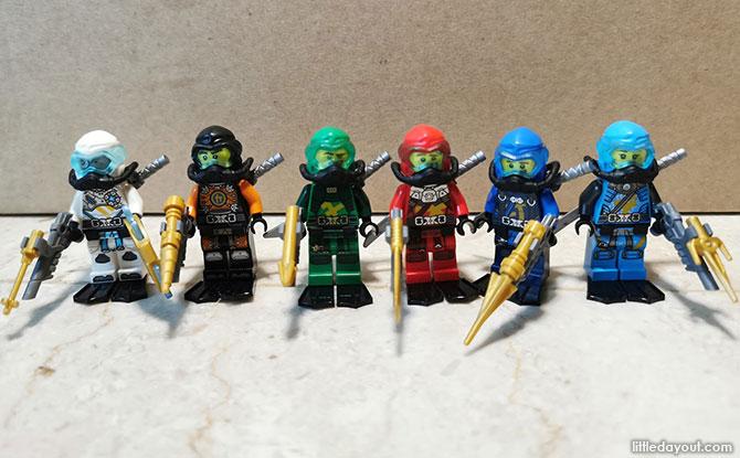 Build of LEGO NINJAGO Hydro Bounty 71756