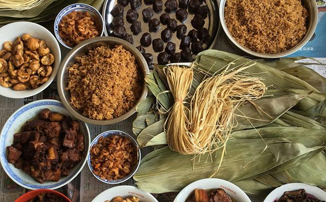 Rice Dumpling Ingredients