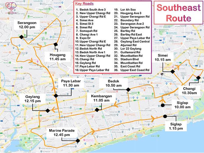 NDP 2020 Mobile Column Route