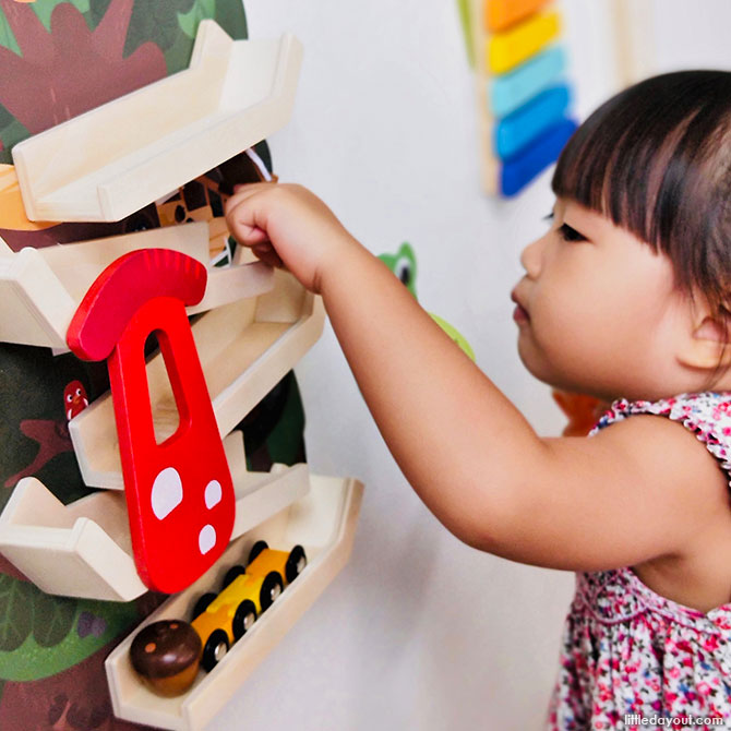 Tree Top Adventure, Oribel Vertiplay Wall Toys Review