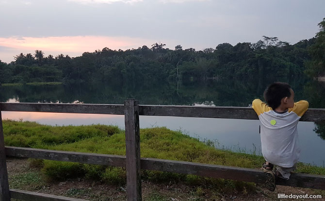 Pekan Quarry in the Evening