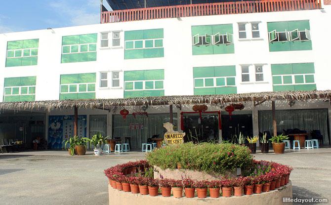 Main building at Sinar Eco Resort