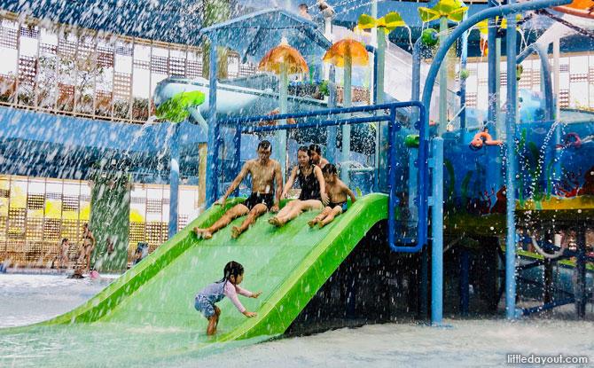 Slides at Splash @ Kidz Amaze, SAFRA Punggol