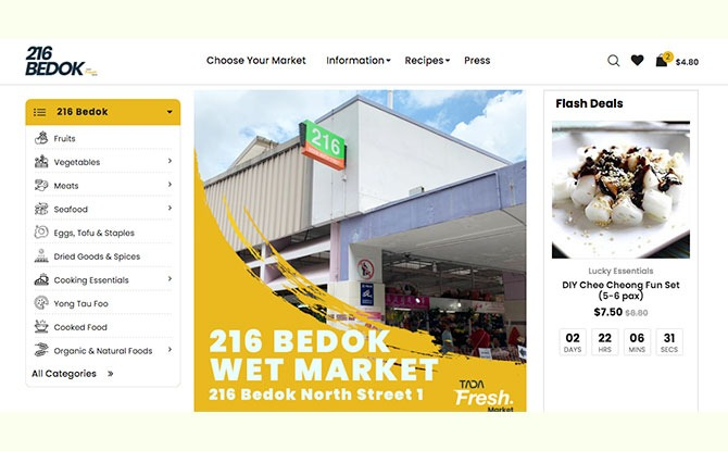 TADA Fresh -Shop Online from Wet Markets