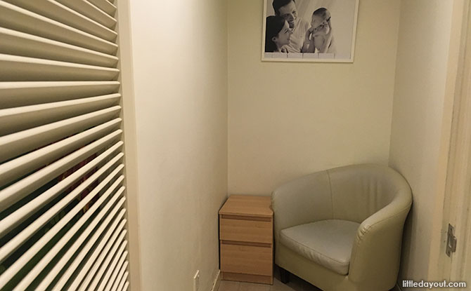 Breastfeeding room, Tanglin Mall