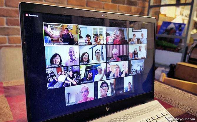 Video Call Hangout - Virtual Birthday Party
