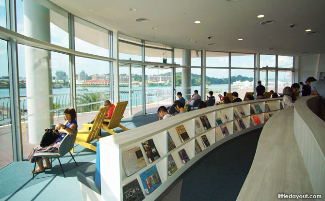 Reading Lounge at VivoCity Library
