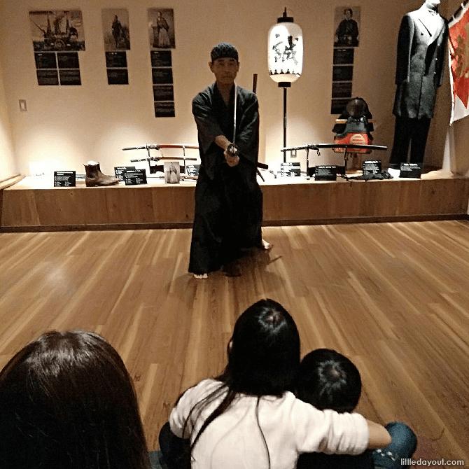 Samurai Demonstration, Samurai Museum Tokyo, Shinjuku
