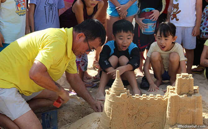 Review: Little Day Outing to Castle Beach – Amazing Sandcastles Family Workshop