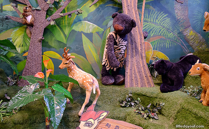 Safari Zone in Teseum Teddy Bear Safari Museum