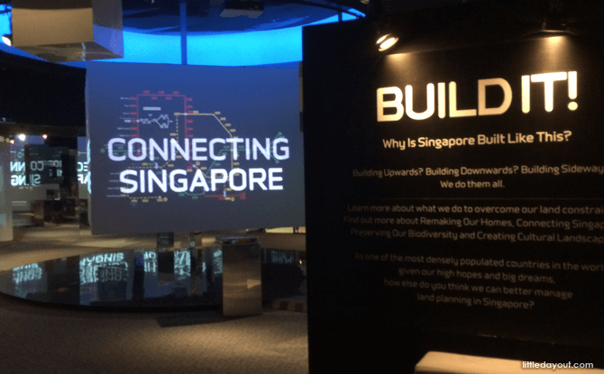 Build It! Exhibit at S'pore Discovery Centre