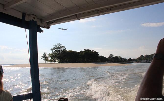 Pulau Ubin Chinese Kampong House: Bumboat Ride
