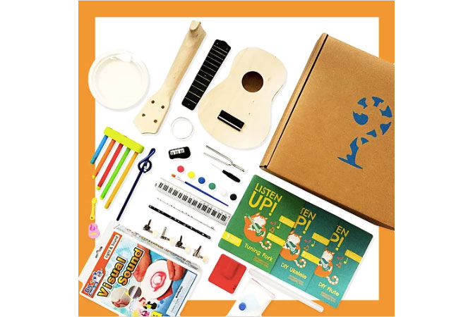 Curious Kits' subscription boxes for kids
