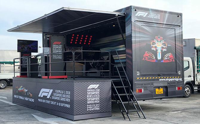 Fun on Wheels - F1 Truck