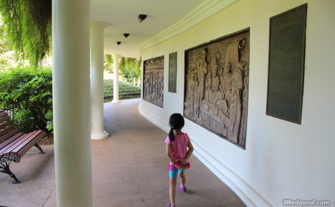 Faber Point's Copper Murals, Mount Faber Park