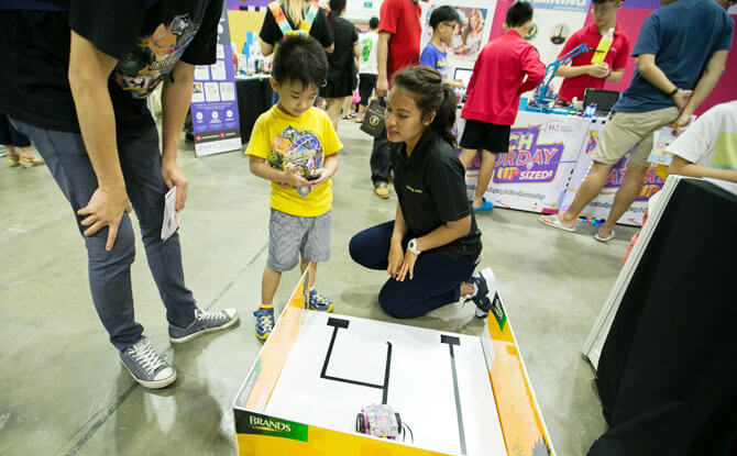 Carnival games at IMDA Tech Saturday (Upsized!) 2018