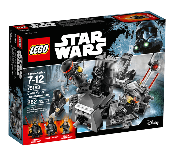 LEGO® Star Wars™ Darth Vader™ Transformation