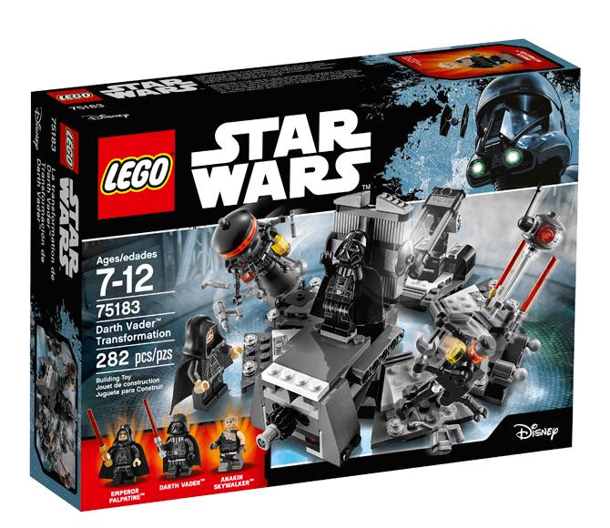 LEGO® Star Wars™ Darth Vader™ Transformation