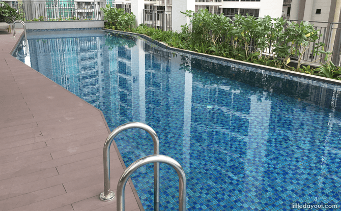 Swimming Pool, Oasia Residence, Singapore