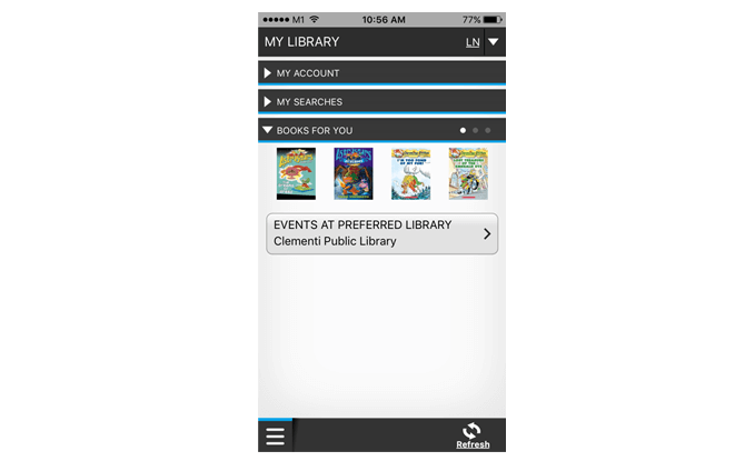 NLB Library App