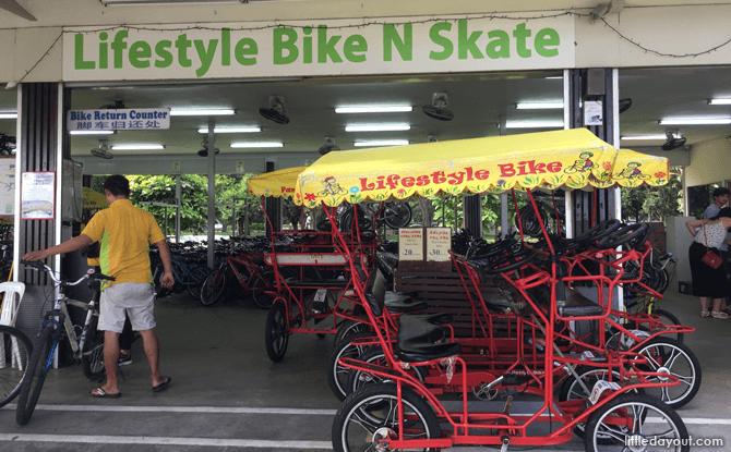 Lifestyle Bike N Skate, East Coast Park Bicycle Rental