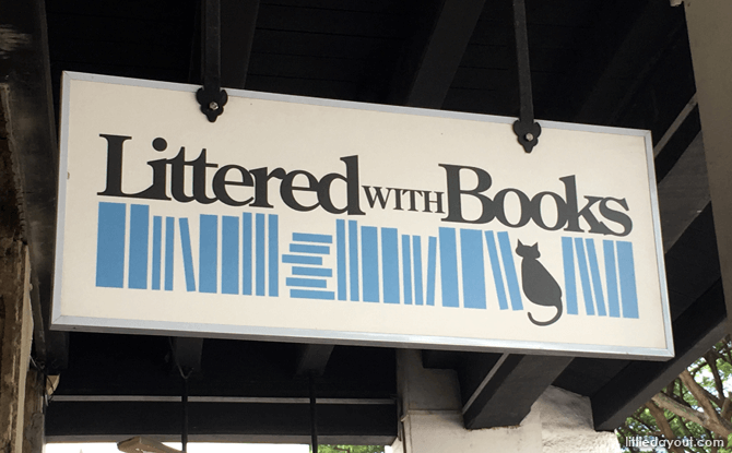 Littered With Books, Bookstore at Duxton Hill