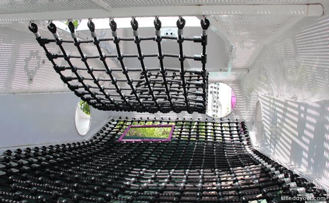 Interior of Tank Playground