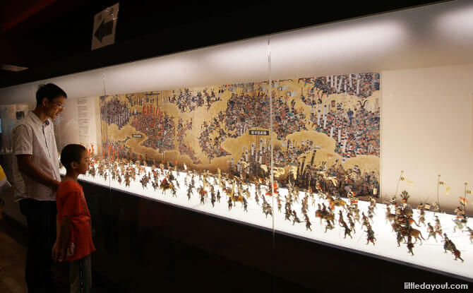 The Summer War in Osaka exhibit, Osaka Castle