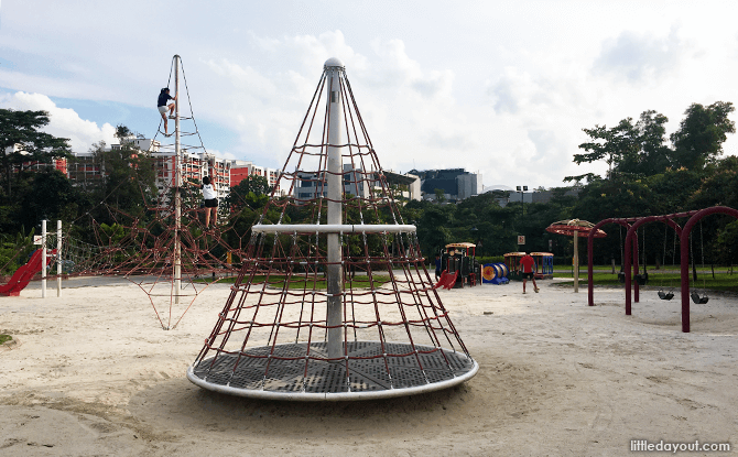 Playground at Choa Chu Kang Park Extension